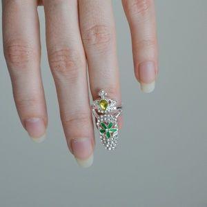 ❗️LAST ONE❗️ Fancy Fingernail Art Ring - Style #12
